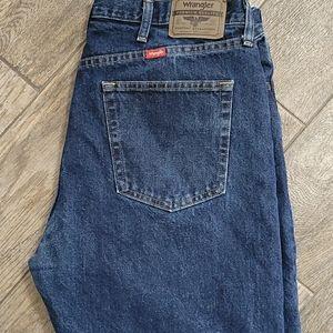 Wrangler 38x29 regular fit denim jeans